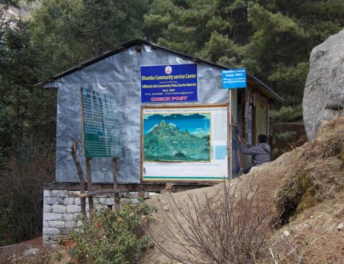 Namche Police Post Rebuild